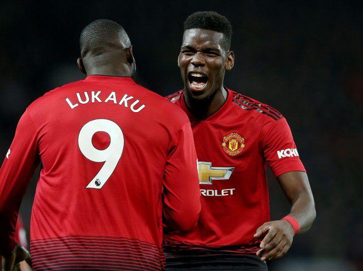 Pogba lideró el triunfo del Manchester United.
