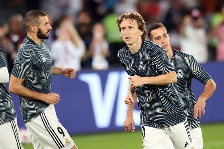 Modric estuvo en la órbita del Inter.