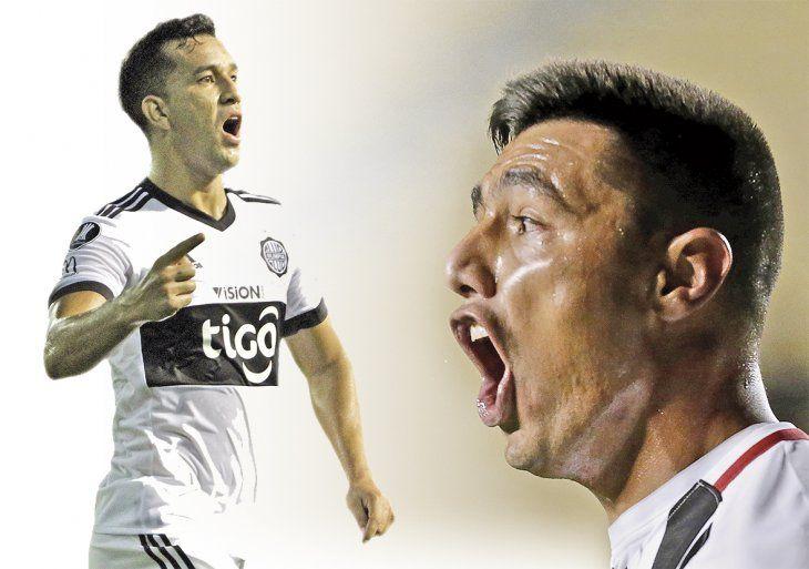 Una costumbre. Óscar Cardozo grita con todas sus fuerzas uno de sus varios goles que marcó en esta temporada.