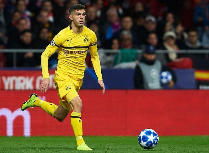 Christian Pulisic dejar el Borussia Dortmund para jugar en el Chelsea.