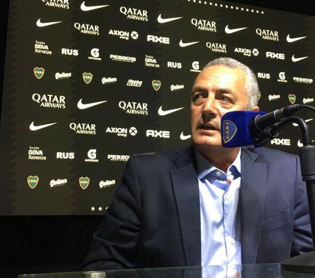 Gustavo Alfaro fue presentado como nuevo técnico de Boca Juniors.