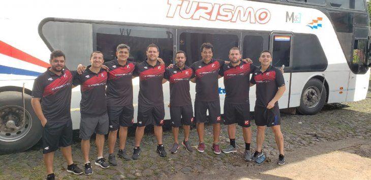 El cuerpo técnico de River Plate