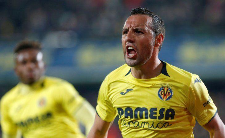Santi Cazorla le dio el empate al Villarreal.