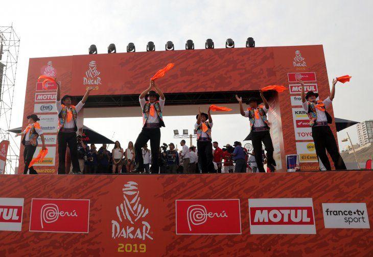 El Dakar largó este domingo en Lima.