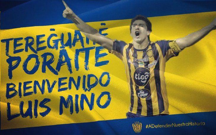 Luis Miño regresa a Sportivo Luqueño.