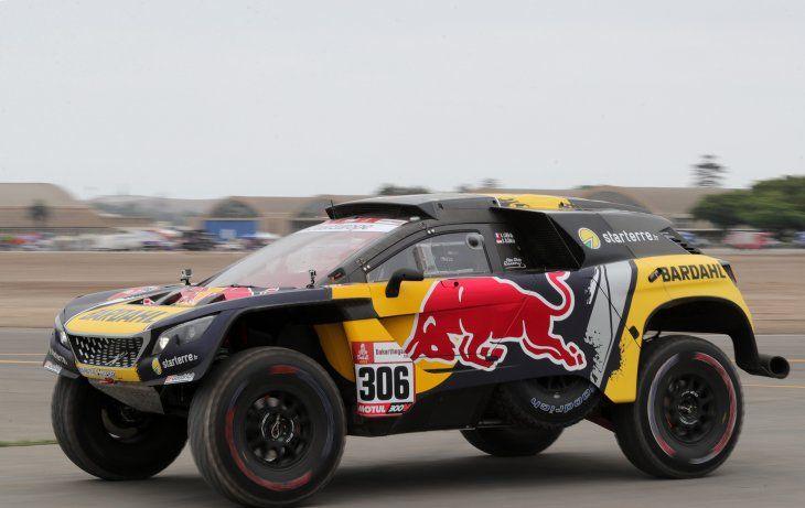 Loeb se quedó con la segunda jornada en Perú.