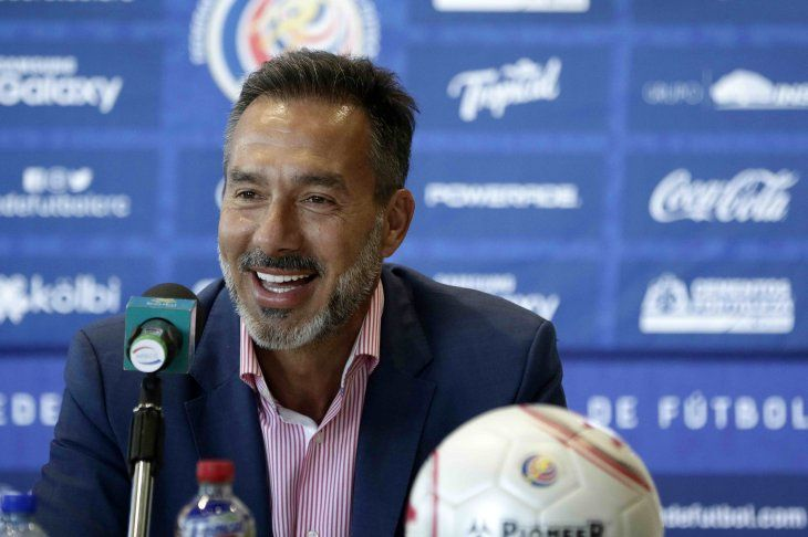 Gustavo Matosas habló en conferencia de prensa este martes.