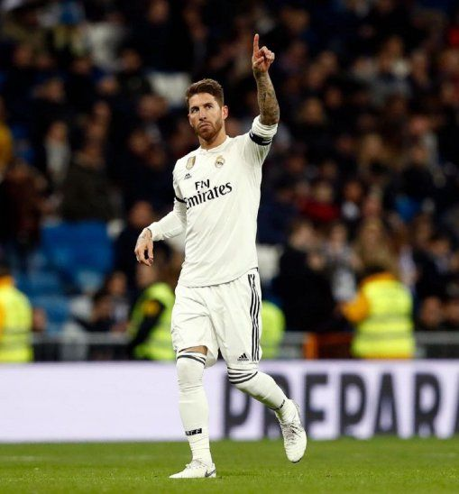 Sergio Ramos llegó a los 100 goles en su carrera.