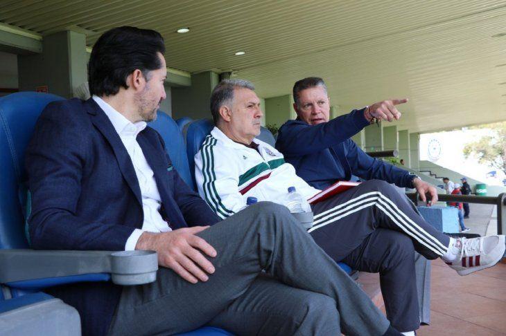El cuerpo técnico de Gerardo Martino seguía a México desde hace seis meses.