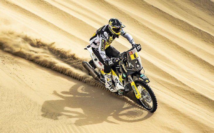 El chileno Pablo Quintanilla gana sexta etapa y vuelve a ser líder del Dakar.