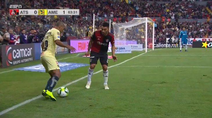 Cecilio Domínguez se mandó una gran jugada.