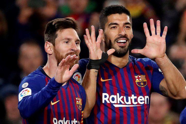 Barcelona goleó al Eibar.