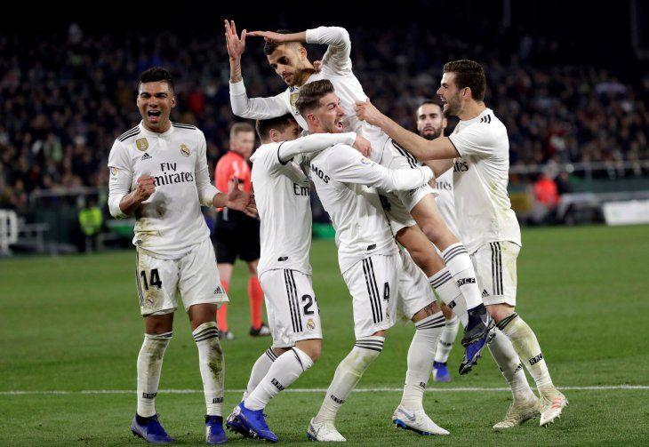 Ceballos le dio la victoria al Real Madrid.
