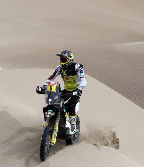 El motociclista chileno Pablo Quintanilla.