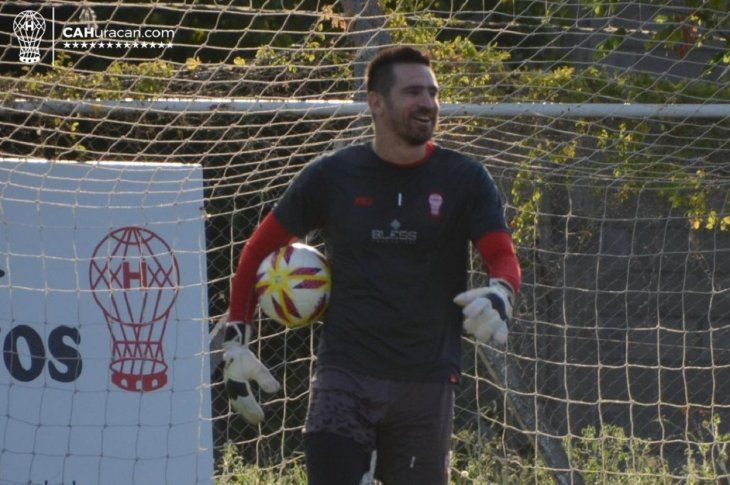 Antony Silva ya entrenó en Huracán.