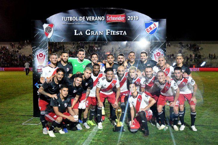 River Plate empezó el 2019 a puro festejo.
