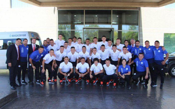 Con todo. La Selección Paraguaya Sub 20 se instaló desde ayer en la ciudad de Talca.