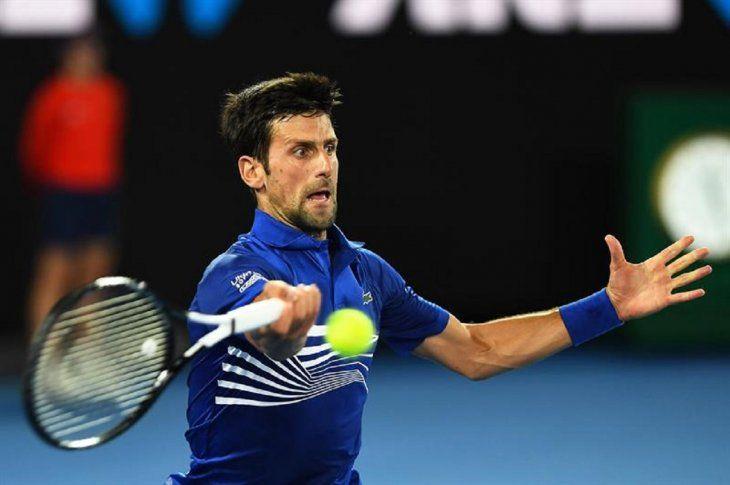 Djokovic es el principal candidato a levantar el título en Melbourne.