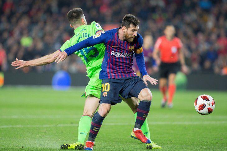 El Barcelona venció al Levante.