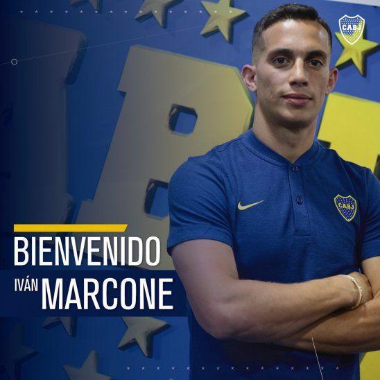 Iván Marcone es nuevo compañero de Junior Alonso.