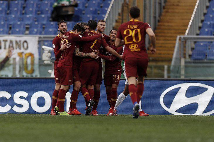 Roma se ubica cuarto en la Serie A de Italia.