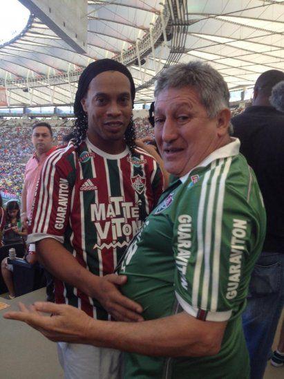 Ronaldinho y Romerito estarán en el sorteo de la Copa América 2019.