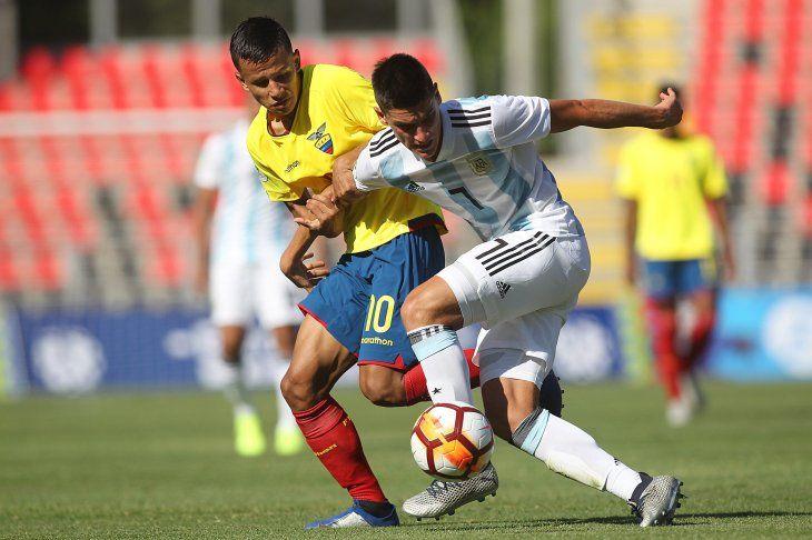 Ecuador derrotó a Argentina este martes.