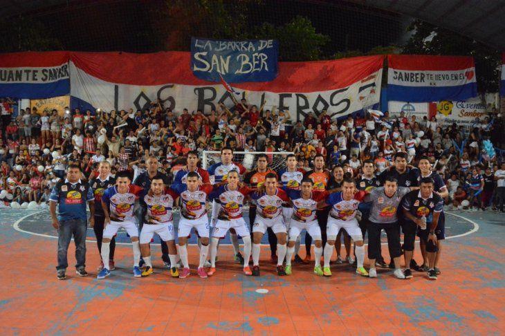 Selección de San Ber.