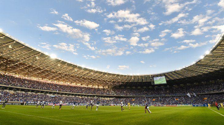 Estadio Mineirao donde Paraguay medirá a Argentina.