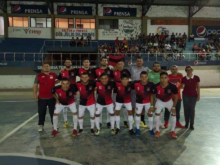 Selección de Fútbol de Salón de Piquete Cué.