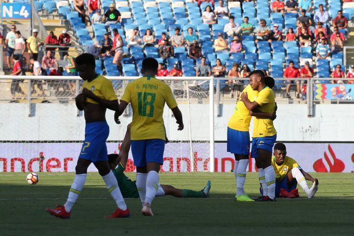 Brasil derrotó por la mínima diferencia a Bolivia.