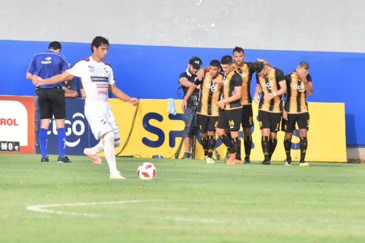 Guaraní derrotó a Nacional en el Arsenio Erico.