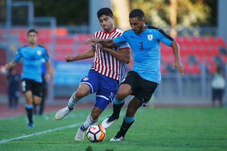 Paraguay cayó ante Uruguay y quedó fuera del Sudamericano.