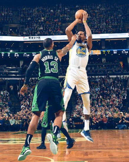 Los cinco All-Stars de Warriors pueden con los Celtics.