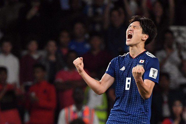 Japón avanzó a la final de la Copa Asia.