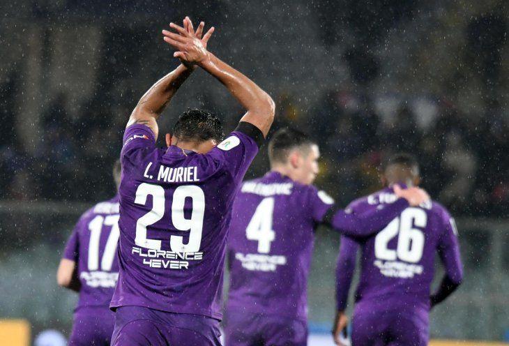 Fiorentina aplastó a la Roma.