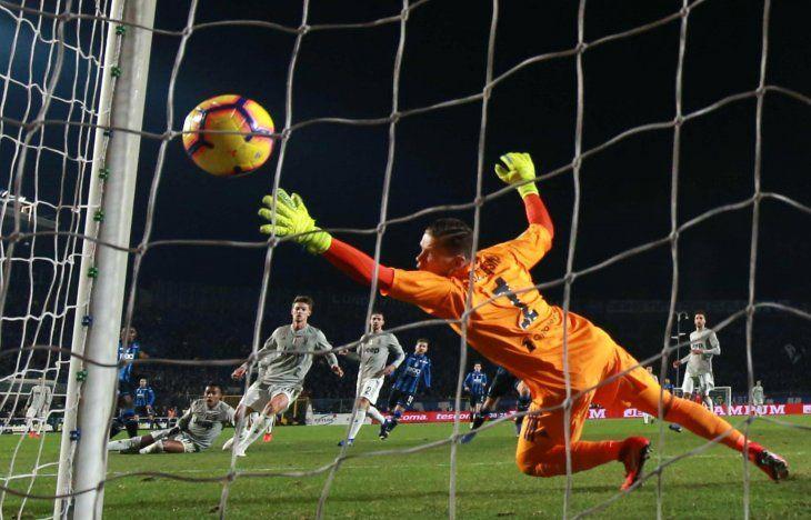 Atalanta eliminó a la Juventus.