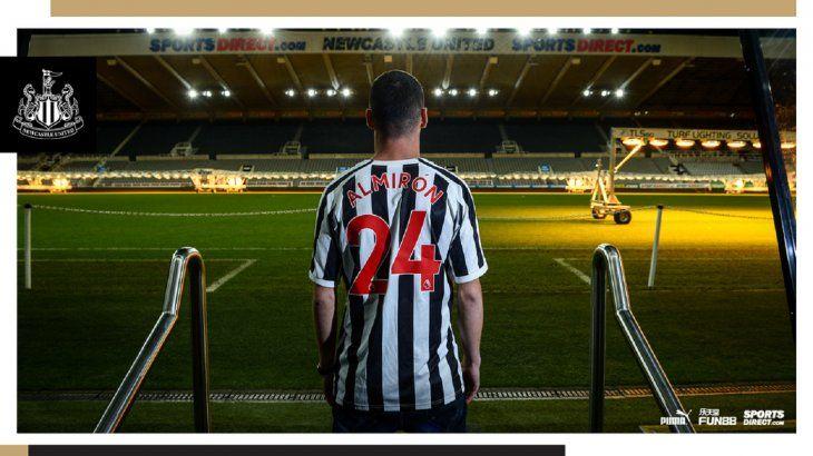 Miguel Almirón: El Newcastle es un club histórico.