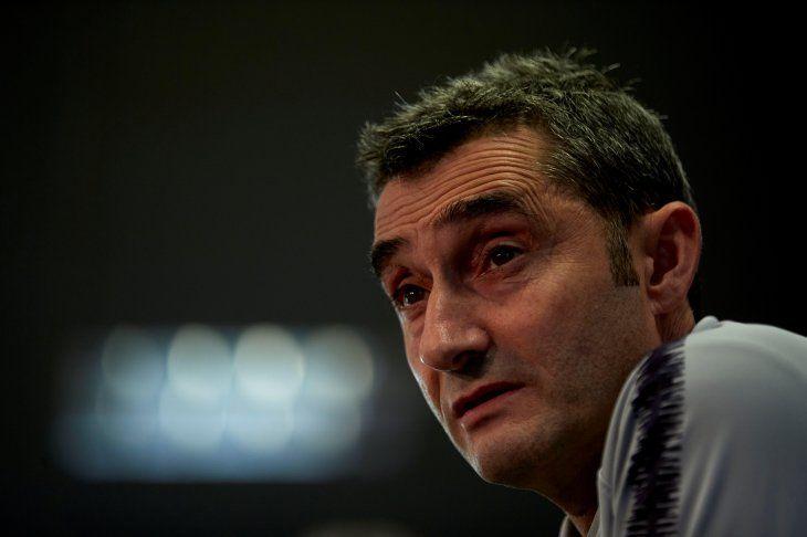 Ernesto Valverde habló en conferencia de prensa este viernes.