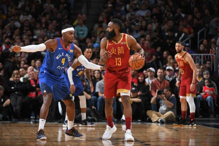 Harden mostró su poderío encestador en esta jornada de la NBA.