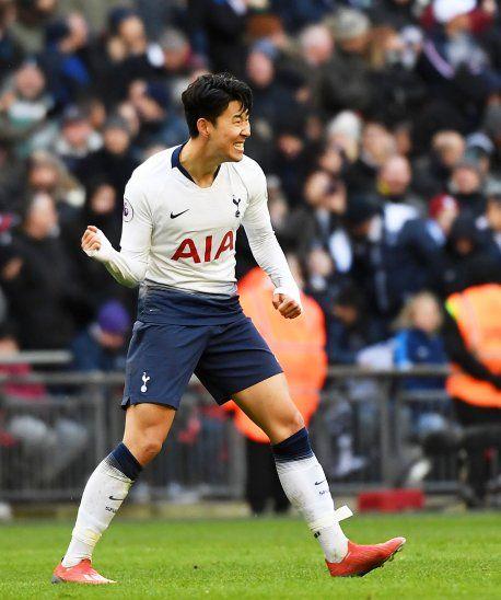 Son le dio la victoria al Tottenham.