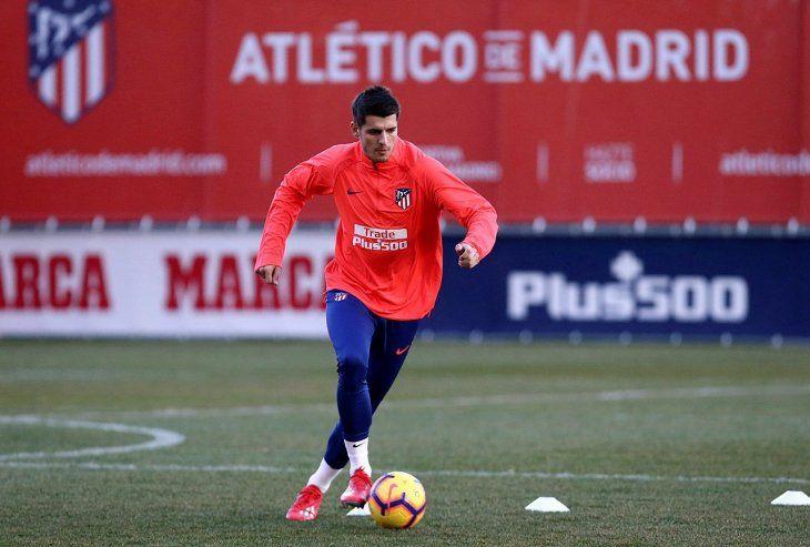 Álvaro Morata debutará como jugador del Atlético de Madrid.