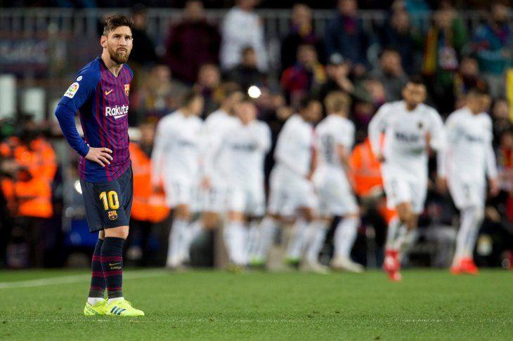 Las molestias en el muslo derecho de Messi no parecen graves