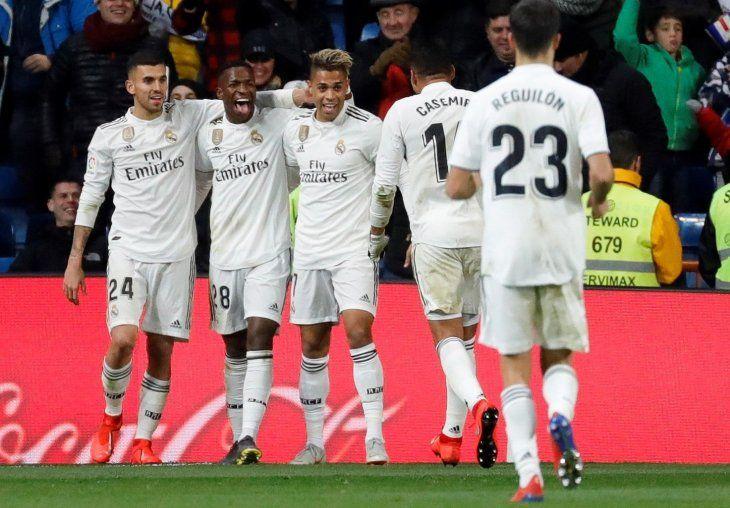 El Real Madrid goleó este domingo al Alavés.