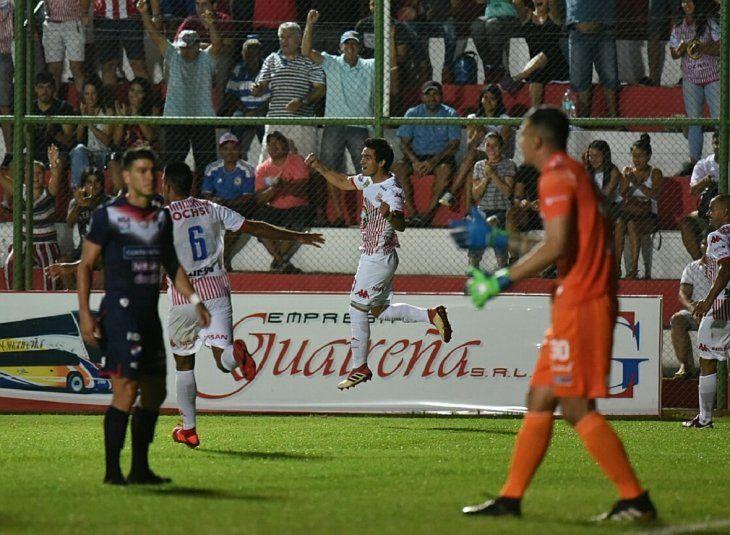 San Lorenzo venció de local a Nacional.