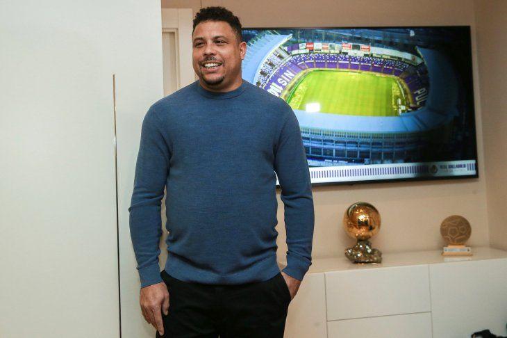 Ronaldo Nazario jugó en Barcelona y Real Madrid