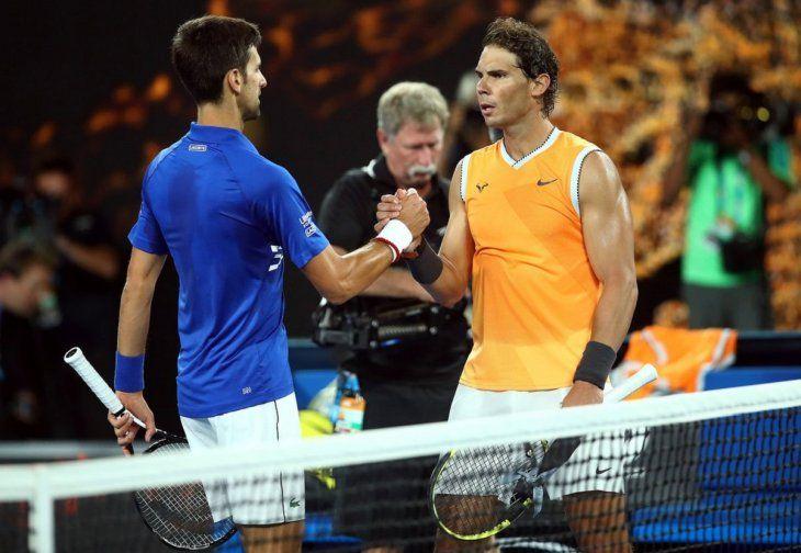 Nadal y Djokovic encabezan la lista de aspirantes a ganar el Abierto de Miami.