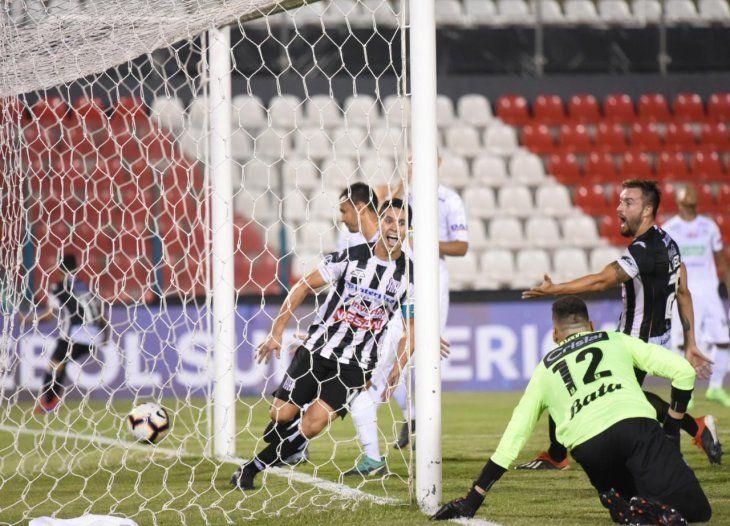 Blas Díaz marcó el gol de Santaní en Sajonia.