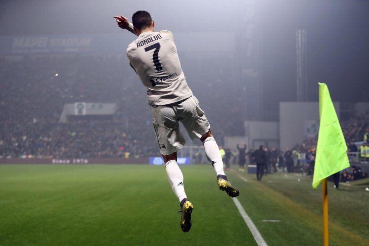 Cristiano Ronaldo fue la figura en la victoria de Juventus.