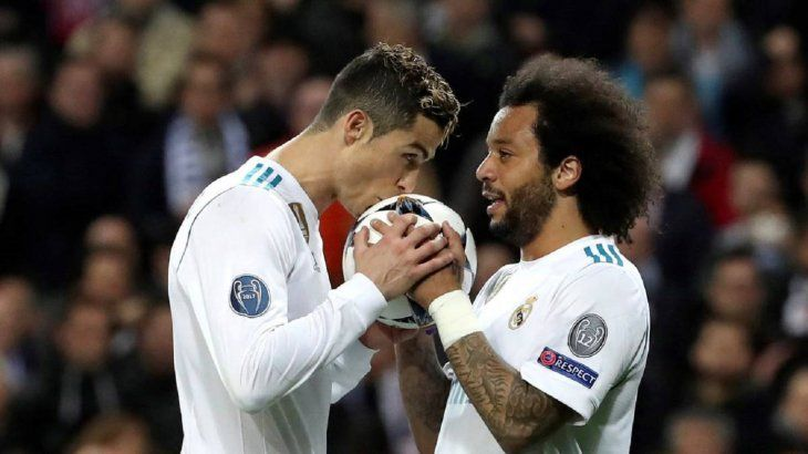 Marcelo revela que supo desde antes la ida de Cristiano Ronaldo del Madrid.